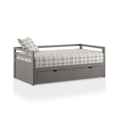 Brinoma Twin/King Extendable with Trundle Daybed - HOMES: Inside + Out