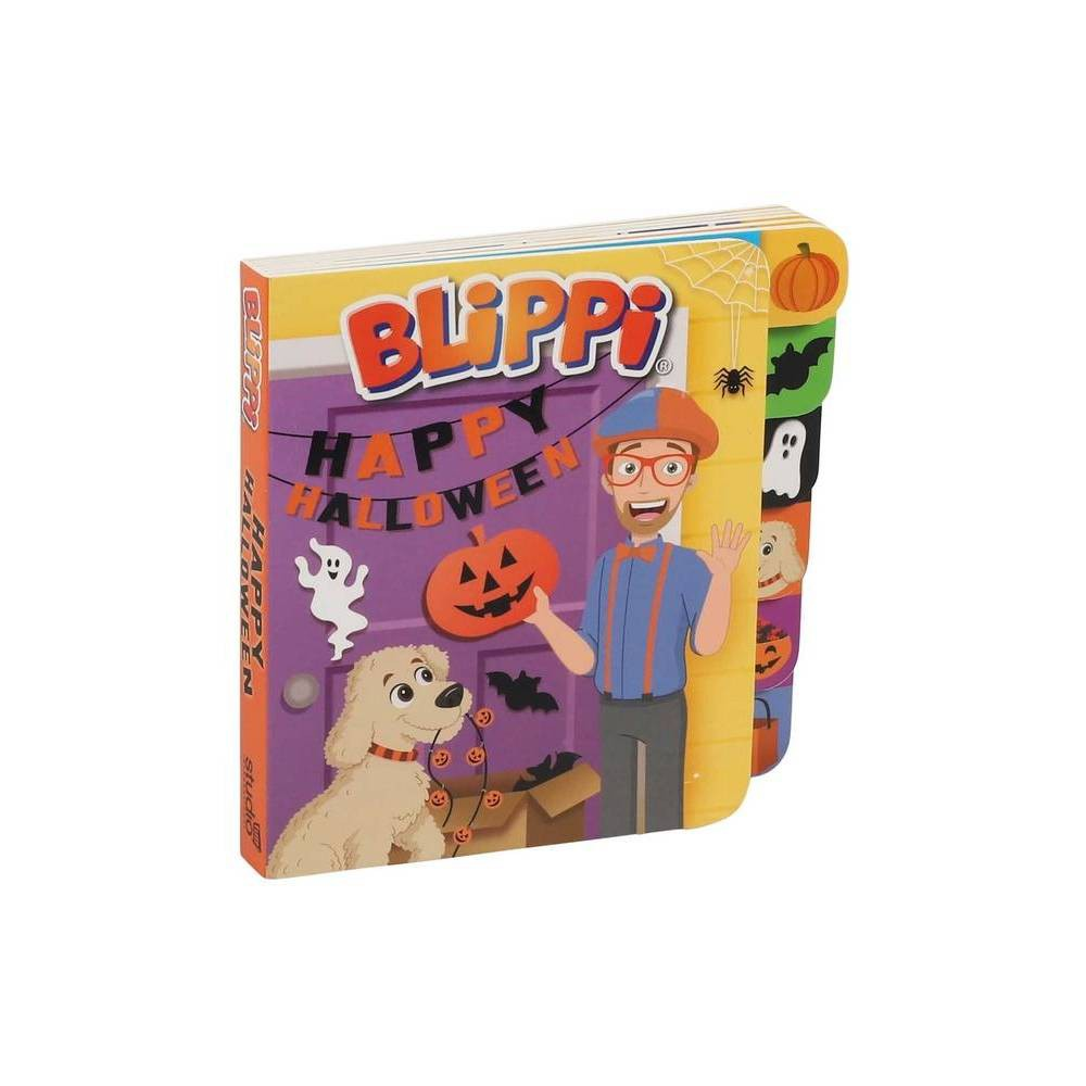 Blippi Mini Tabbed Halloween Bb Board Book