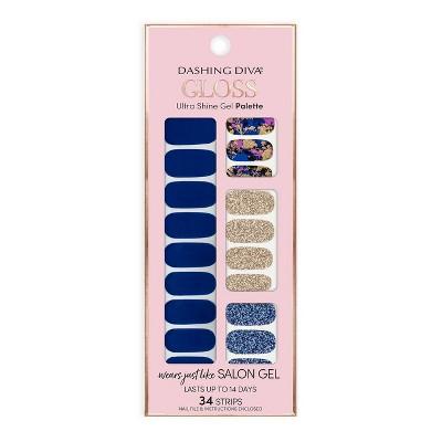 Dashing Diva Gloss Ultra Shine Gel Palette - Blue Vixon