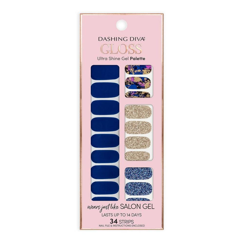 Image of Dashing Diva Gloss Ultra Shine Gel Palette - Blue Vixon