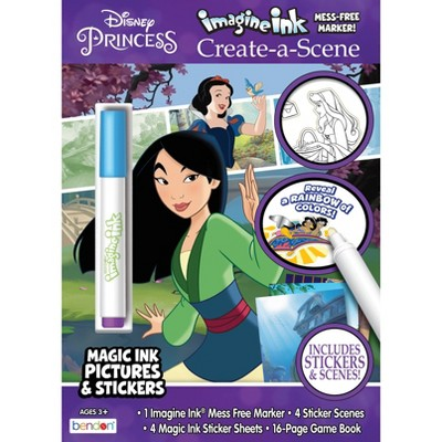 Disney Princess Imagine Ink Sticker Scenes