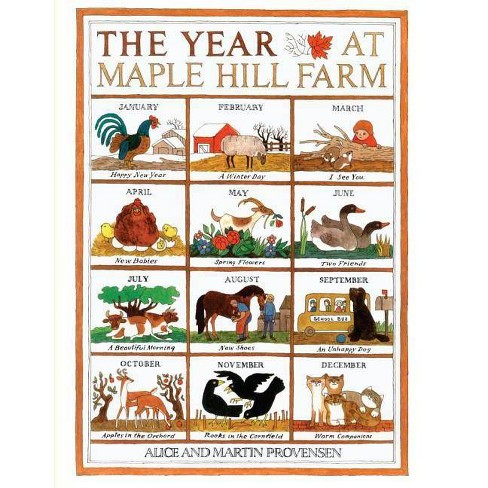 The Year at Maple Hill Farm - by  Alice Provensen Provensen (Hardcover) - image 1 of 1