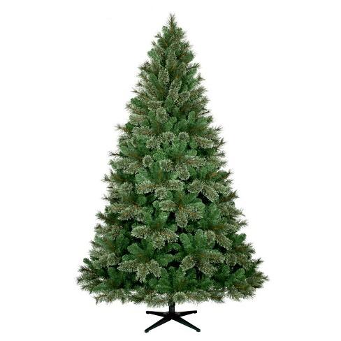 7.5ft Unlit Full Artificial Christmas Tree Virginia Pine ...