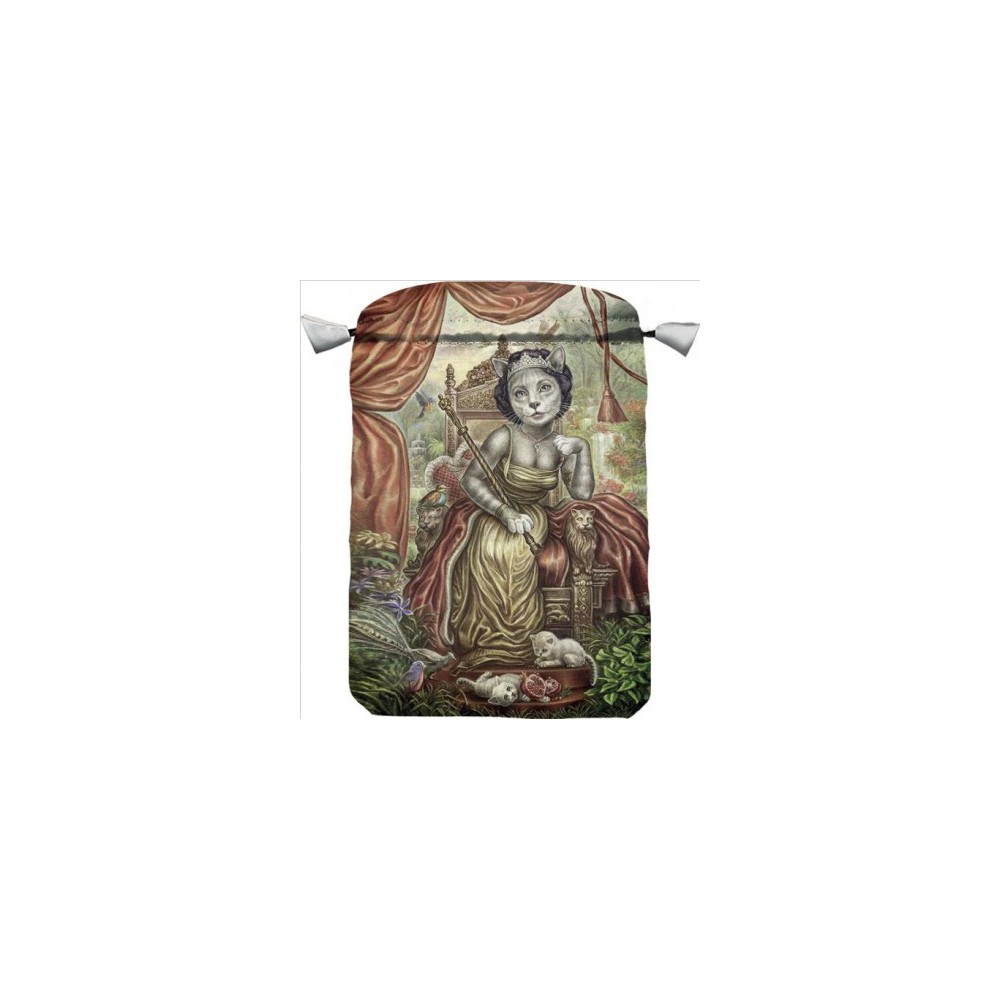 Cattarot Satin Bag (Accessory) (Diana Cammarano)