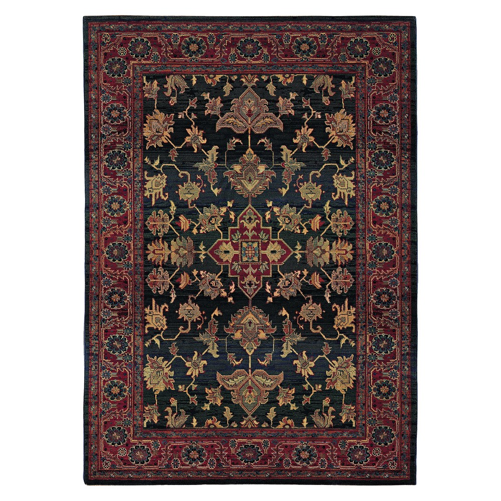 Ansley Area Rug - Green (7'10x11')