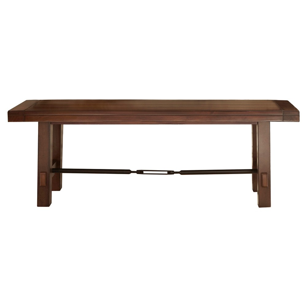 Bench 54 Wood/Oak (Brown) - Inspire Q