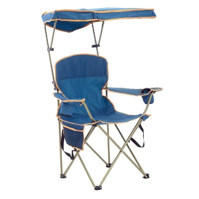 Quik Shade MAX Shade Chair with Carrying Case - Blue