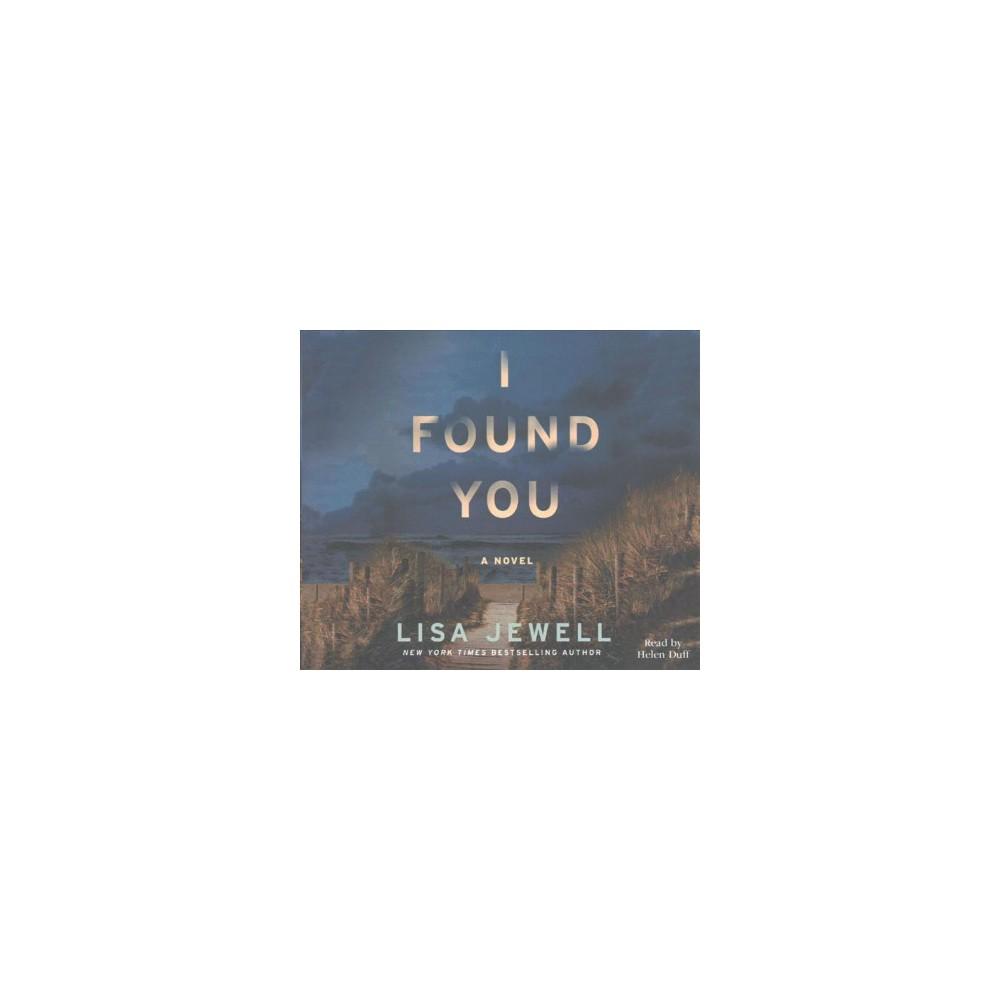 I Found You (MP3-CD) (Lisa Jewell)