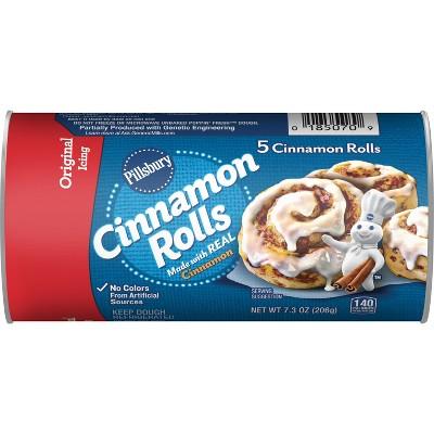 Pillsbury Cinnamon Rolls with Icing - 7.3oz/5ct