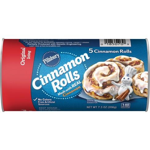 Pillsbury Cinnamon Rolls with Icing - 7.3oz/5ct - image 1 of 4