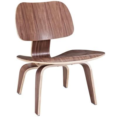 Fathom Wood Lounge Chair - Modway