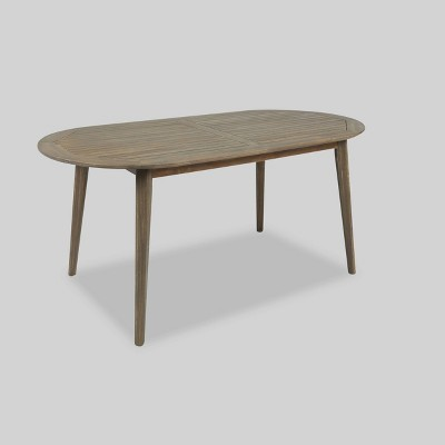 Stamford Oval Acacia Wood Dining Table - Christopher Knight Home