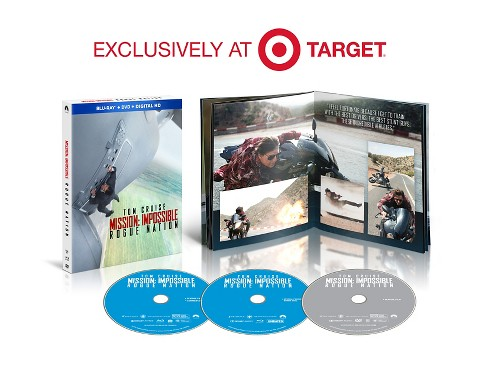 Mission: Impossible - Rogue Nation (Blu-ray/DVD)- Target Exclusive - image 1 of 1