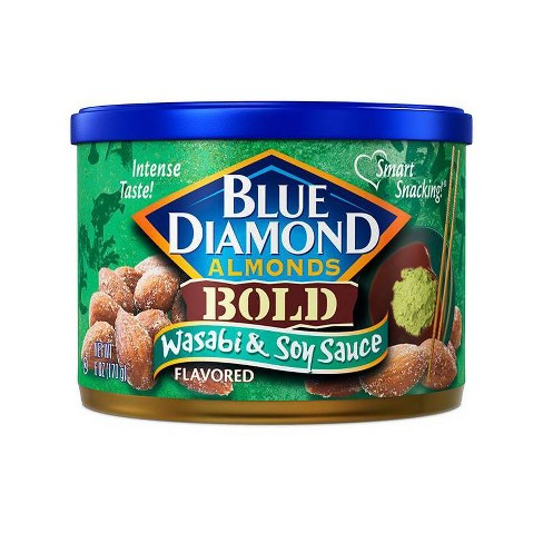 Blue Diamond Almonds Wasabi & Soy Sauce - 6oz - image 1 of 2