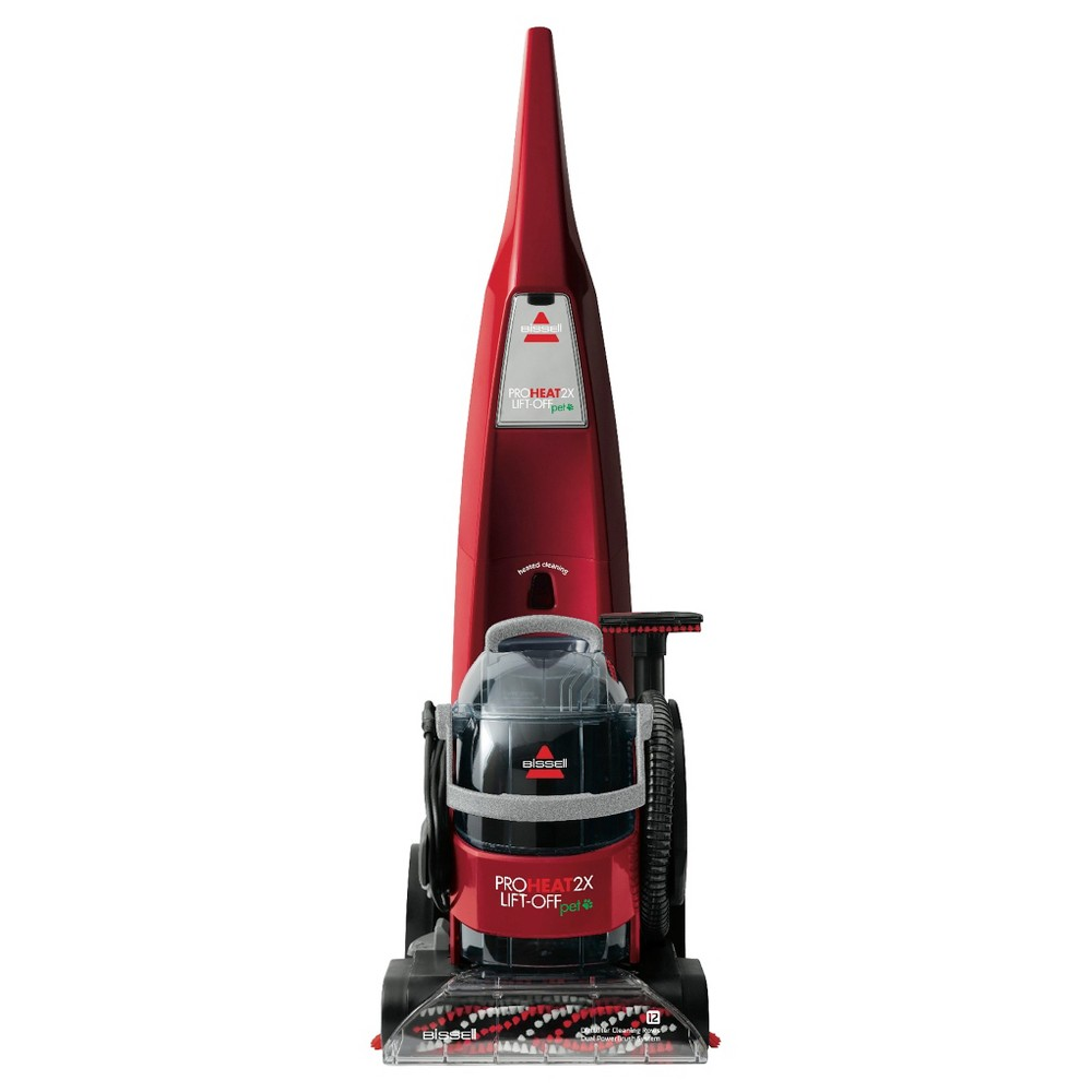 Bissell ProHeat 2X Pet Lift-Off Upright & Portable Carpet Cleaner - Red Berrends 1565T