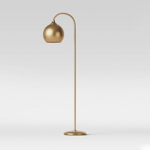 Floor Lamps Gold Includes Energy Efficient Light Bulb
