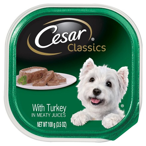 Cesar Canine Cuisine (Turkey in Meaty Juices) - Wet Dog Food - 3.5oz - image 1 of 1