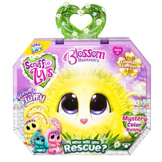Little Live Scruff-a-Luvs Plush Mystery Rescue Pet - Blossom Bunnies
