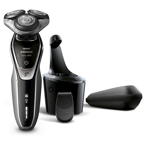 83cbc3eb815 Philips Norelco Series 5700 Wet   Dry Men s Rechargeable Electric Shaver  With Smartclean - S5370 84   Target