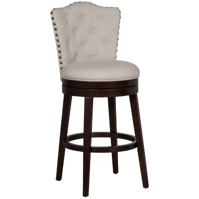Edenwood Barstool Chocolate/Cream - Hillsdale Furniture