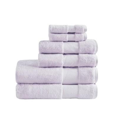 6pc Turkish Bath Towel Set