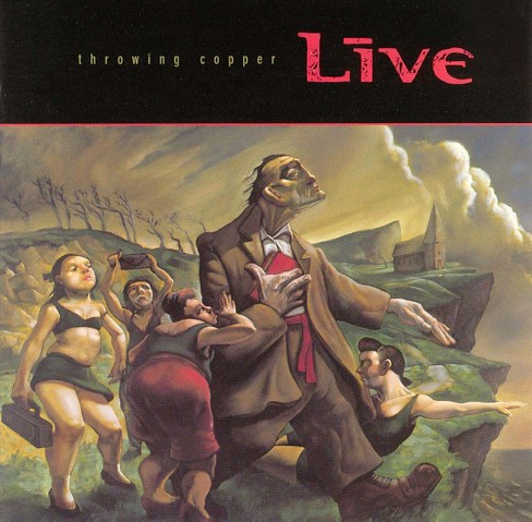 Live - Throwing Copper (CD) - image 1 of 4