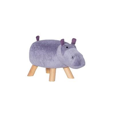 Henley Hippo Stool Purple - Powell Company