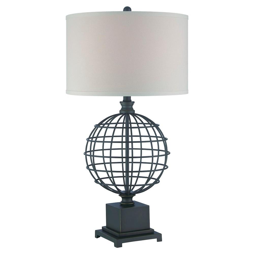 Image of Brenton 1 Light Table Lamp Dark Bronze (Includes Energy Efficient Light Bulb) - Lite Source