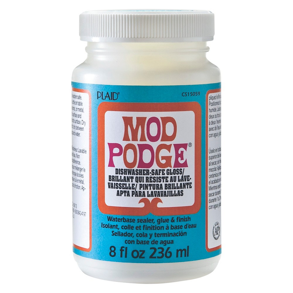 Image of Mod Podge Craft Glue 8oz - Dishwasher-Safe Gloss