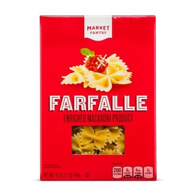 Farfalle Enriched Pasta - 16oz - Market Pantry™