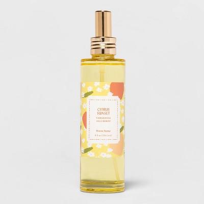 4 fl oz Flora Yellow Glass Citrus Sunset Room Spray - Opalhouse™