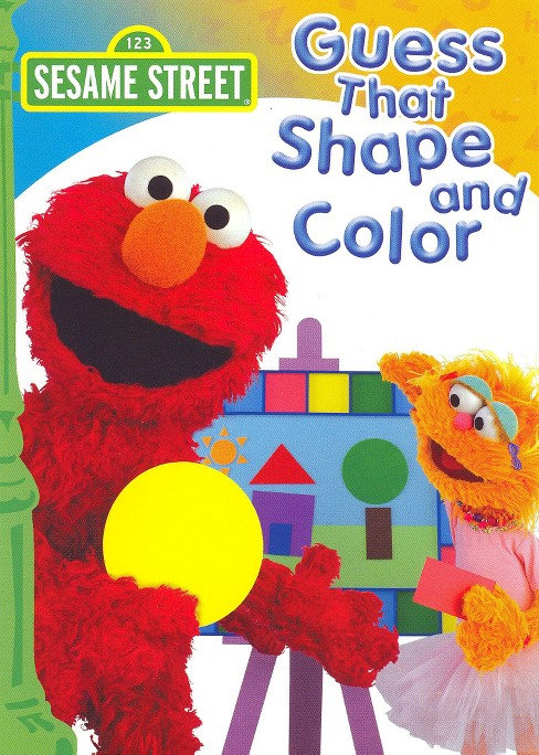 Sesame Street: Guess That Shape and Color (dvd_video) - image 1 of 1