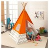 KidKraft Teepee - Orange - image 4 of 4