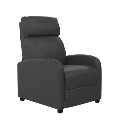 Sofy Pushback Recliner Faux Leather - Room & Joy