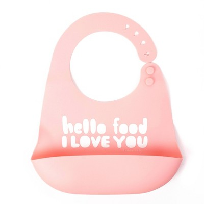 Tunno Tots Silicone Bib - Hello Food