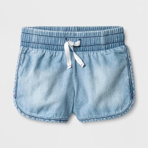 Toddler Girls Denim Shorts Cat Jack Light Wash