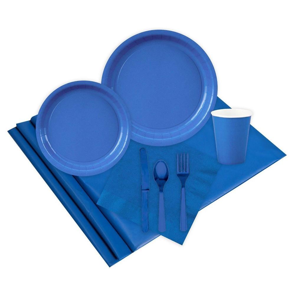 16 Guest Cobalt Blue Party Pack