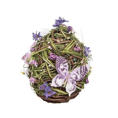 Gallerie II Medium Lavender Egg Easter Figurine