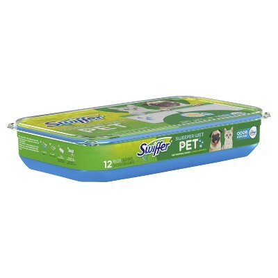 Swiffer Sweeper Wet Refill Pet 12ct