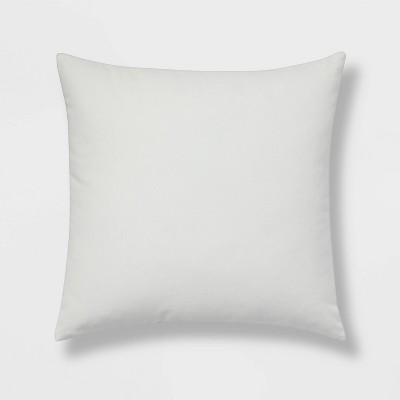 Cotton Velvet Square Throw Pillow White - Room Essentials™