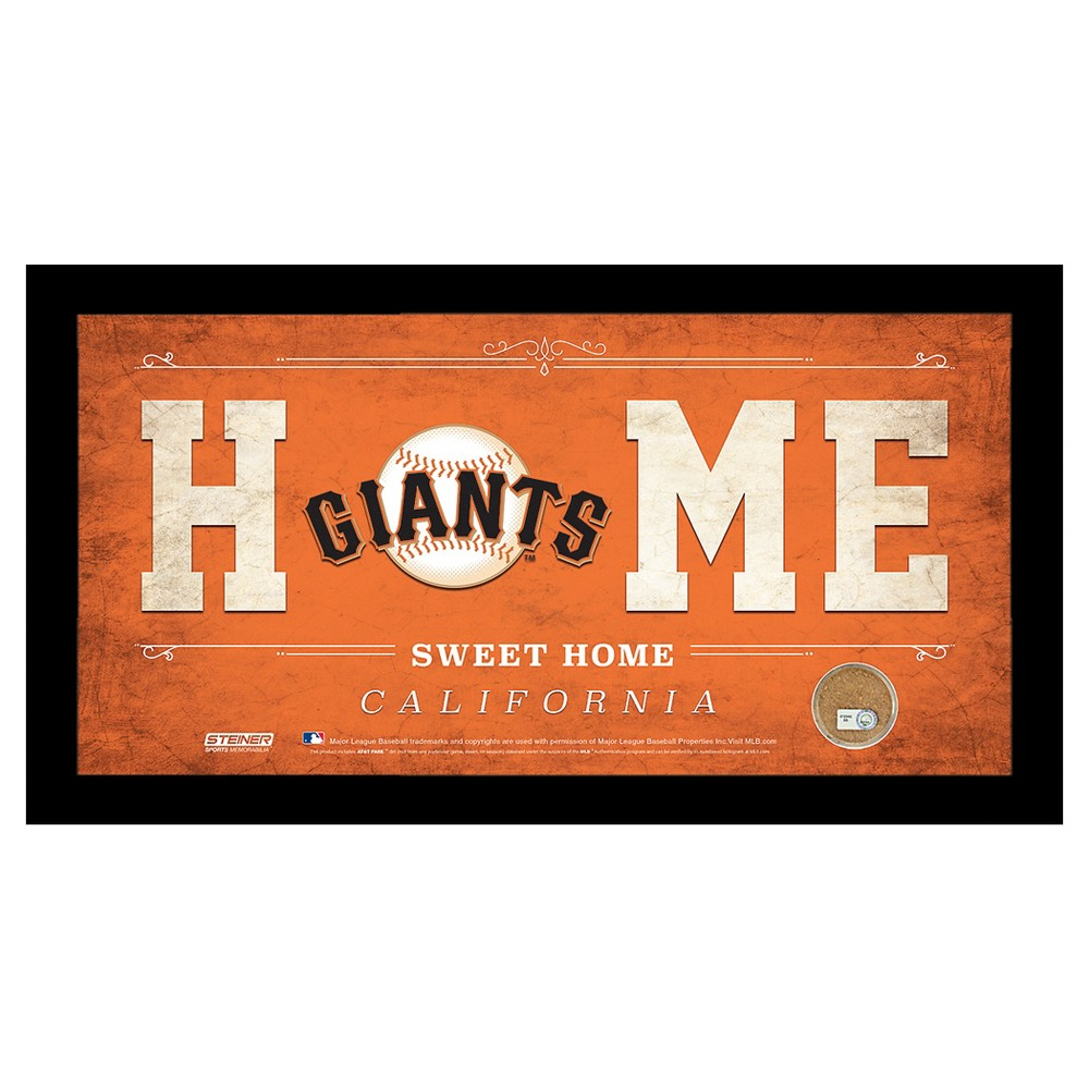 San Francisco Giants Steiner Sports Home Sweet Home Sign - 6x12 inch