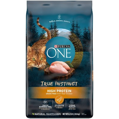 Purina ONE True Instinct Grain Free with Real Chicken Adult Premium Dry Cat Food - 6.3lbs