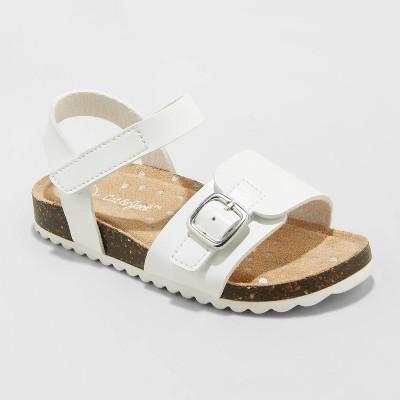 Toddler Girls' Belle Footbed Sandals - Cat & Jack™