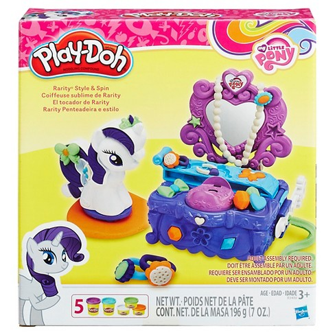 Play-Doh My Little Pony Rarity Style and Spin Set - image 1 of 2