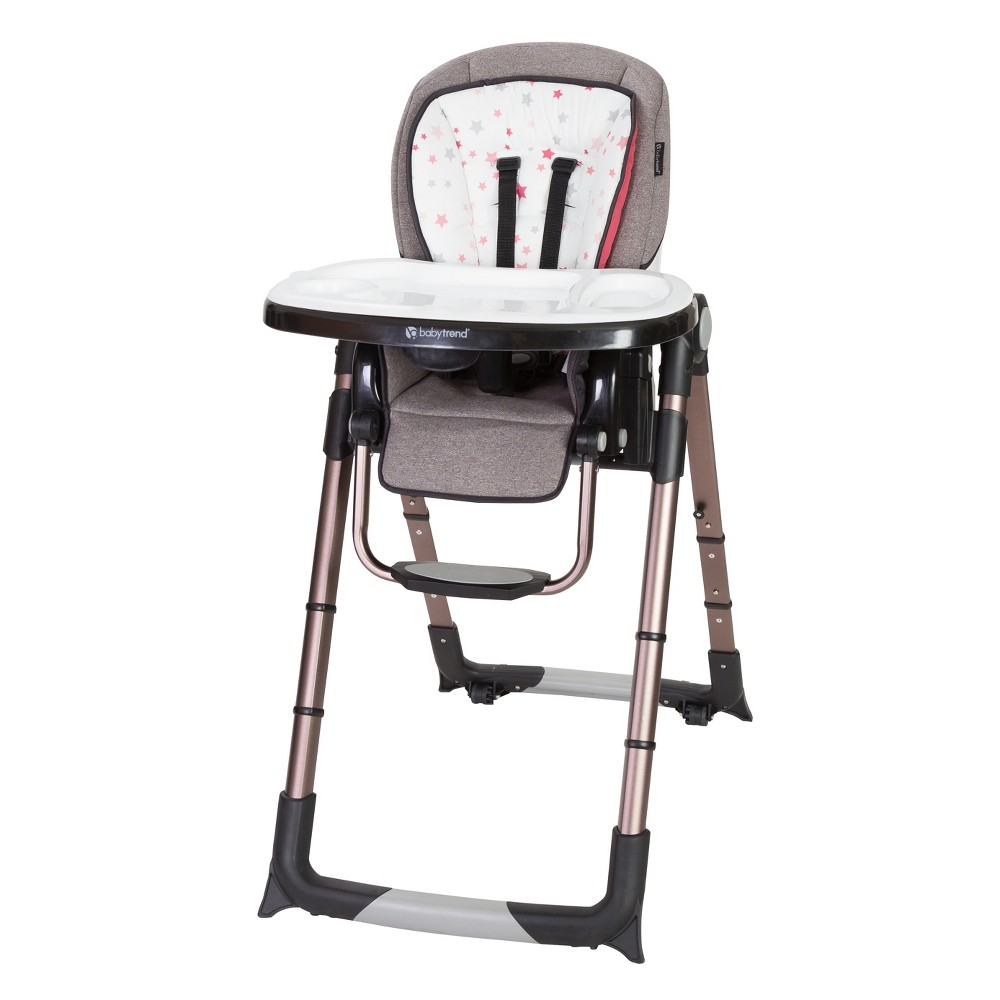 Image of Baby Trend Go Lite Snap Gear 5-in-1 Feeding Center High Chair - Stardust Rose