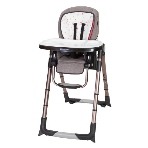Baby Trend Go Lite Snap Gear 5-in-1 Feeding Center High Chair - Stardust Rose - image 1 of 8