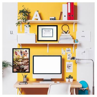 '8.5''x11'' Back-Bevel Document Frame Matted - Room Essentials'