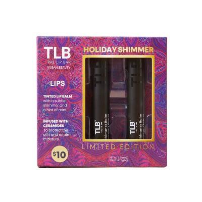 The Lip Bar Holiday Shimmer Balm Collection - 0.21 oz