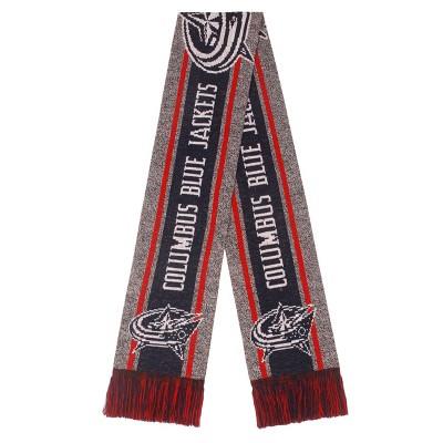 NHL Columbus Blue Jackets Big Logo Scarf - Gray