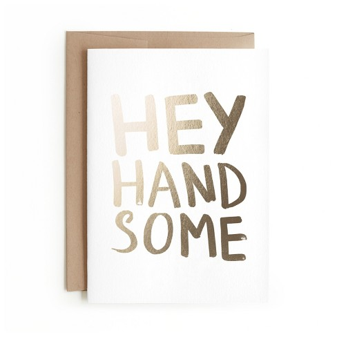 Minted Hey Handsome Card - image 1 of 1